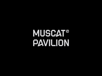 Muscat Pavilion arabic egypt arabic logotype logotype type typogaphy wordmark geometric logo office logo arabic logo logo