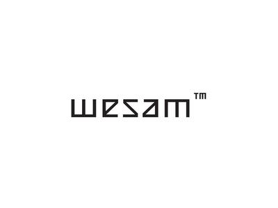 Wesam Ambigram designer logo rotate rotate logo logomark logo geometric geometric logo egypt arabic ambigram logo arabic logo typography type ambigram
