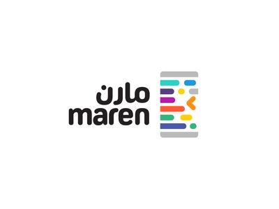 Maren - Mobile Applications Builder egypt arabic colorful logo colorful code lines logo code lines lines application mobile rounded soft matchmaking coding code application ui application logo arabic logo code logo mobile logo