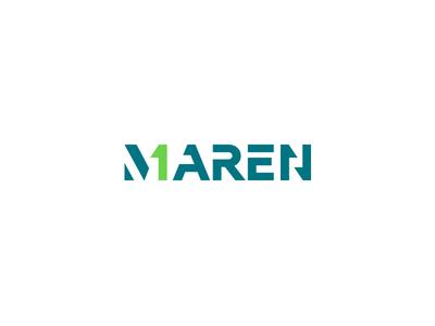 Maren stencil future futuristic marque wordmark word m numeric number one one number first saudi arab egypt arabic