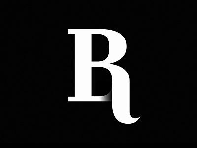 BR Monogram Logo strong unique logotype mark icon symbol logo monogram rb br b r business company lettering best top identity branding brand book