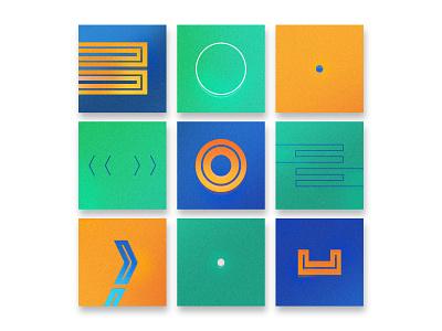 Visual Language Concept composition brand identity identity restaurant icon design minimalistic retro pattern icon logo typography branding vector illustration