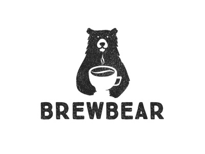 Brewbear classic casual drink food black bear brew