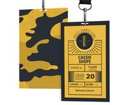 Impact Summer Camp Nametags