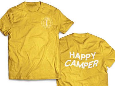 Happy camper shirt typography happy camper camp shirt