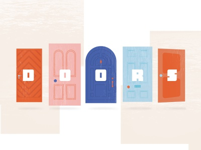 Doors; Everything Has an Entry Point monsters inc texture church illustrator illustration doors