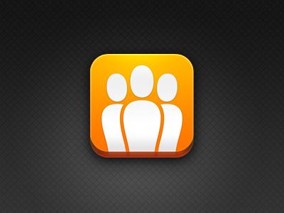 Draugiem.lv iPhone Icon iphone draugiem.lv icon latvia