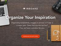 Inboard marketing site redesign