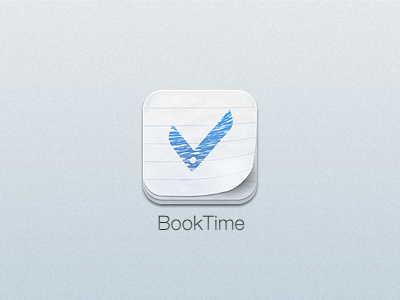 BookTime iPhone icon iphone icon booktime