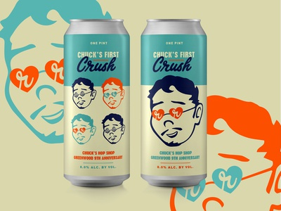 First Crush Beer Packaging