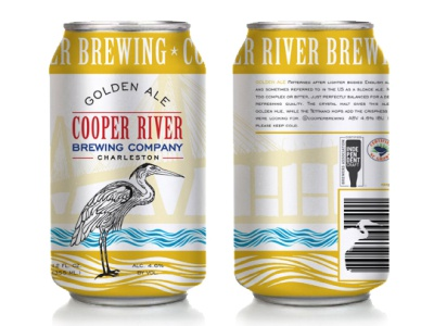 Cooper River Brewing Company Golden Ale