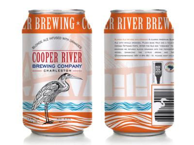 Cooper River Brewing Company Orange Blonde Ale