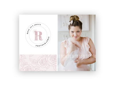 Rose aux joues - Branding and website
