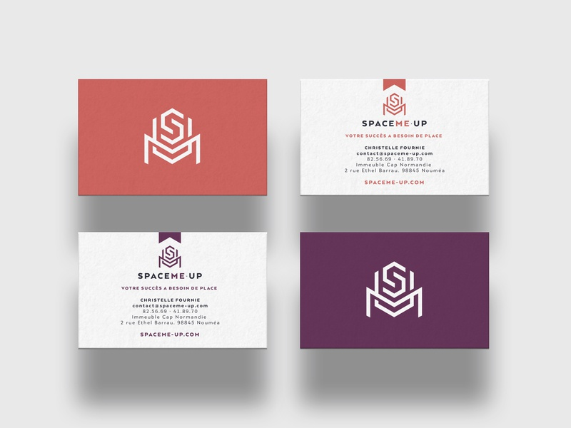 SpaceMe•Up - Business cards