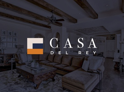 Casa Del Rey: Logo Design simple identity logo design logogrids gridding professional logo designer professional logo luxury home builder logo luxury logo designj