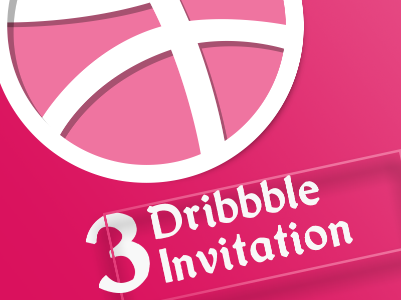 Dribbble Invitation! challenge hello first sadegh-eidi invitation invite dribbble
