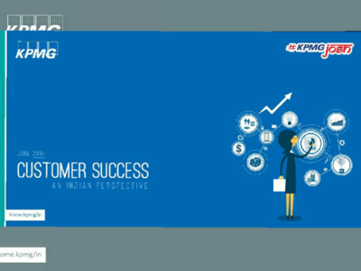 KPMG customer success infographic