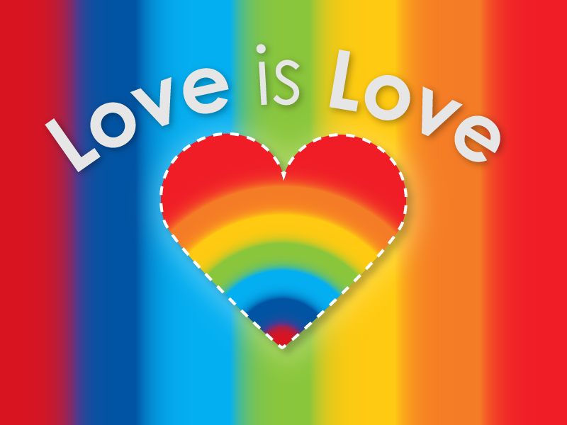 Pride Month - Love is Love vector concept minimal grid icon illustrator dailyuichallenge self-taught layout designer photoshop graphic design graphic dailyui design