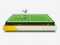 Field Donation Progress Concept progress football loading field donation play campaign