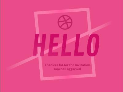 Hello Dribbble free throw debut