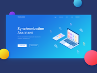 Synchronization Assistant web design
