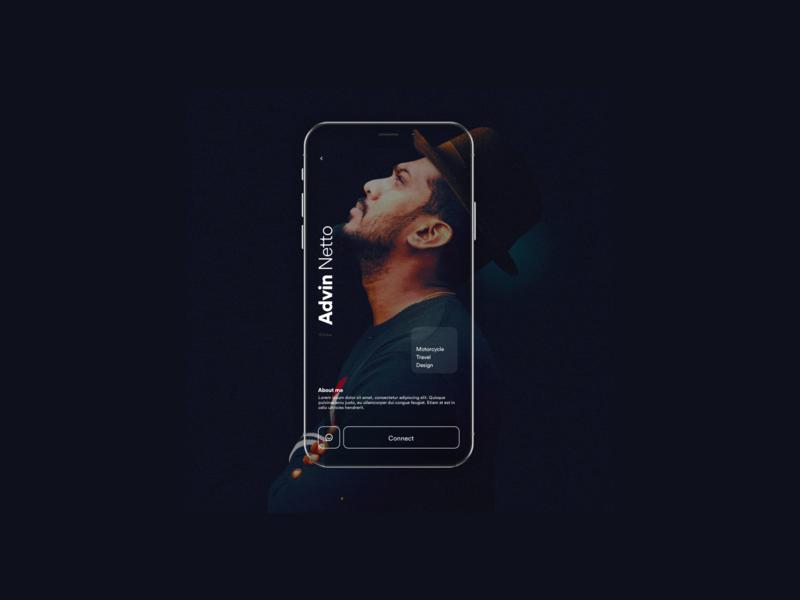 Profile page concept for a social app poroduct design product designer appdesign sketchapp uidesign product design uxdesigner uxdesign graphicdesign designer ux creative design
