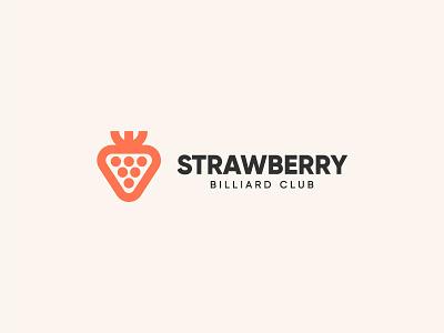 Strawberry style design berry strawberry symbol concept idea art logo