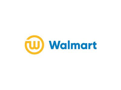Walmart concept symbol designer design redesign logos logo walmart brand rebranding