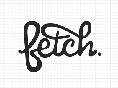 Fetchgrid script typography swashes cursive illustrator portland custom typography pen tool