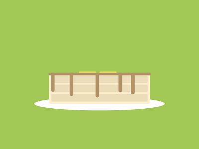 Flapjacks illustrator vector graphic simple minimal pancakes flapjacks