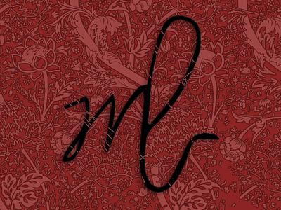 Logo personnel personnal logo flowers illustration project design graphic