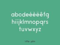 Little John font