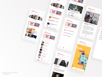 Web Application Festivals 2019