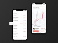 Ride-sharing app concept