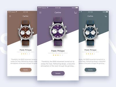 Luxury Wrist Watch Display