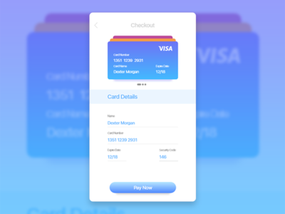 Credit Card Checkout mobile apps apps design credit card adobe xd ui design web design checkout