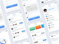 Homework Discussion App Concept - Solve Homework Together