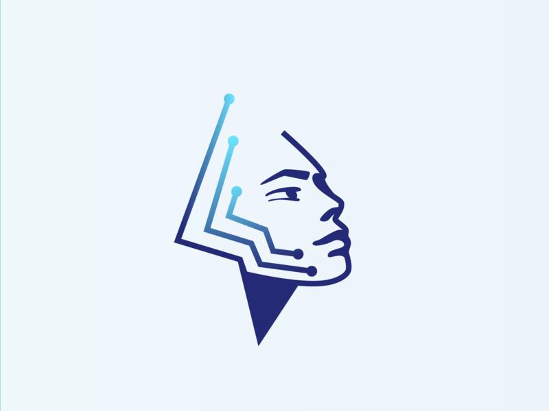 AI Illustration ai digital technology user client ux ui logo illustration branding vector illustrator design