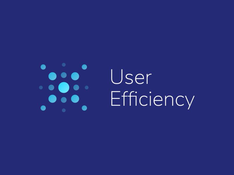 User efficiency - Logo 2 connexion data light efficiency user ux ui client web logo illustration branding vector illustrator design