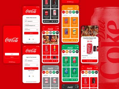 CocaCola App Design Challenge