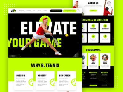 B Tennis Homepage