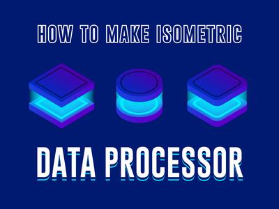 Data Processor Isometric
