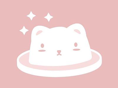 Animal Bowler Hat kawaii bear cat puppy illustration ai vector cheeks cute hat animal