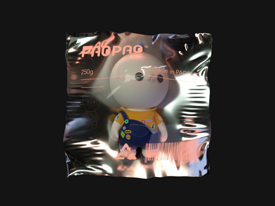 PAOPAO 3D Character Concept character design after effects c4d 3d animation 3d art