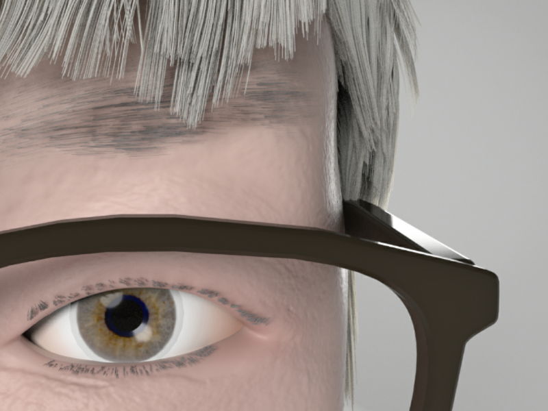 Character design of personal C4D project