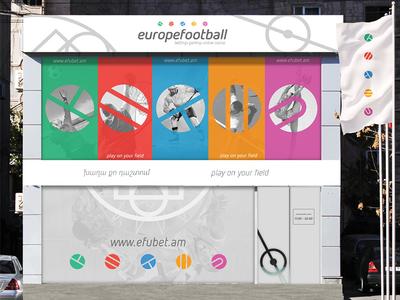 Betting Shop design for efubet.am