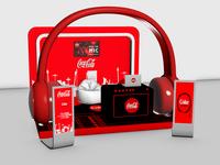 Coca Cola Music - 3D Stand Design Version - 1