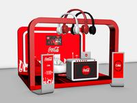Coca Cola Music - 3D Stand Design Version - 2