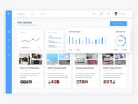 Blog Dashboard - Homepage