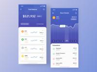 Stock app dribbble